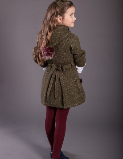 Forest chaqueta punto oversize verde